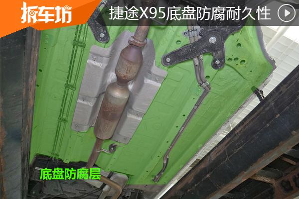 底(di)盤耐久mei)欄 謀旮gan)車型(xing) 捷途X95拆(chai)解!