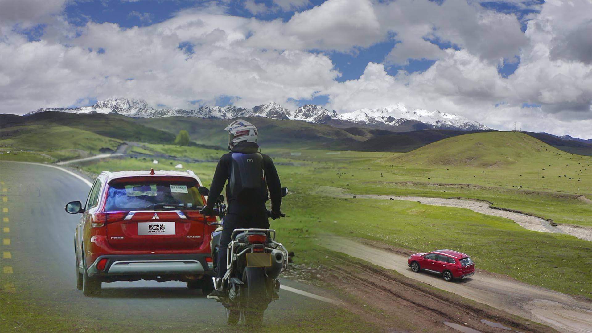 走318千萬不要錯過這里,360度觀看雅拉雪山的草原小環線