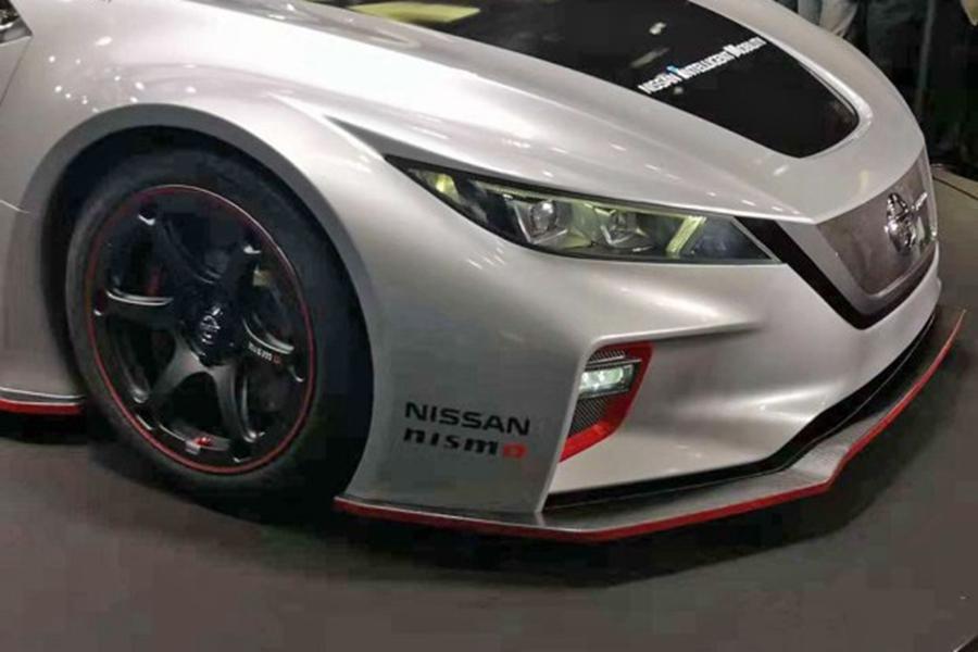 全新聆风NISMO RC电动赛车发布 搭载两部电机