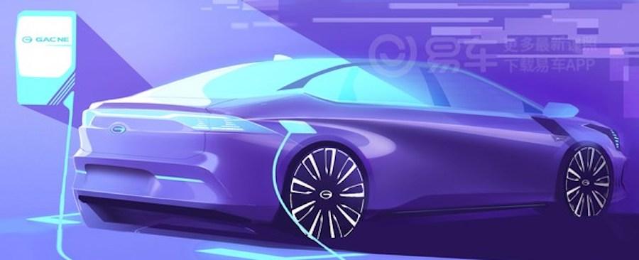 广州车展亮相 曝广汽新能源新电动车预告图