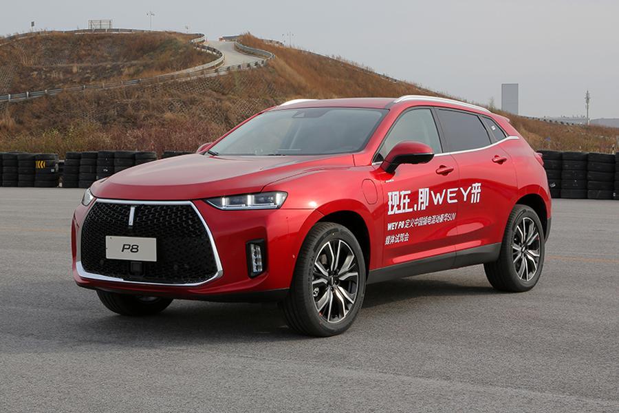 WEY P8上海地区优惠4.9万元 现车销售中