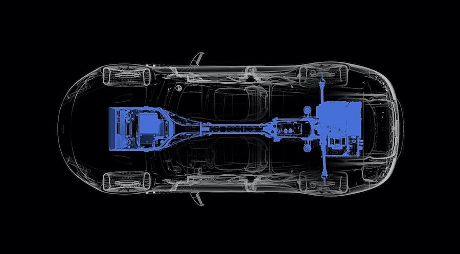阿斯顿·马丁公布Rapide E预告图 续航超320km