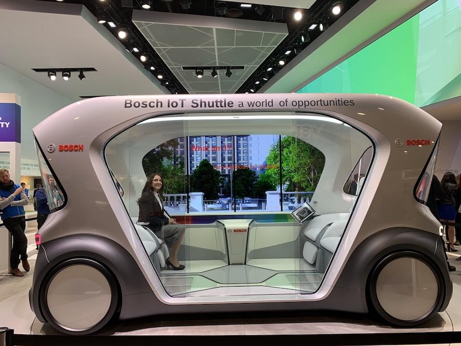 自動駕駛成關鍵詞 2019 CES重點技術/概念車一覽