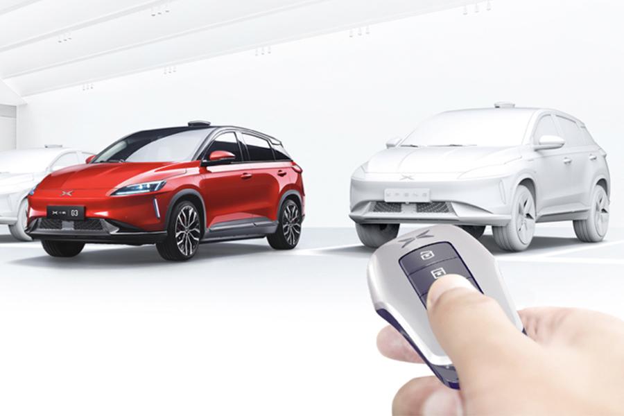 增车辆钥匙召唤功能 小鹏G3迎首次OTA升级