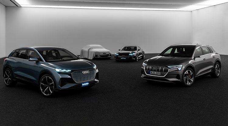 奥迪全面迈入电动时代 2025年将推30余款电动化车型