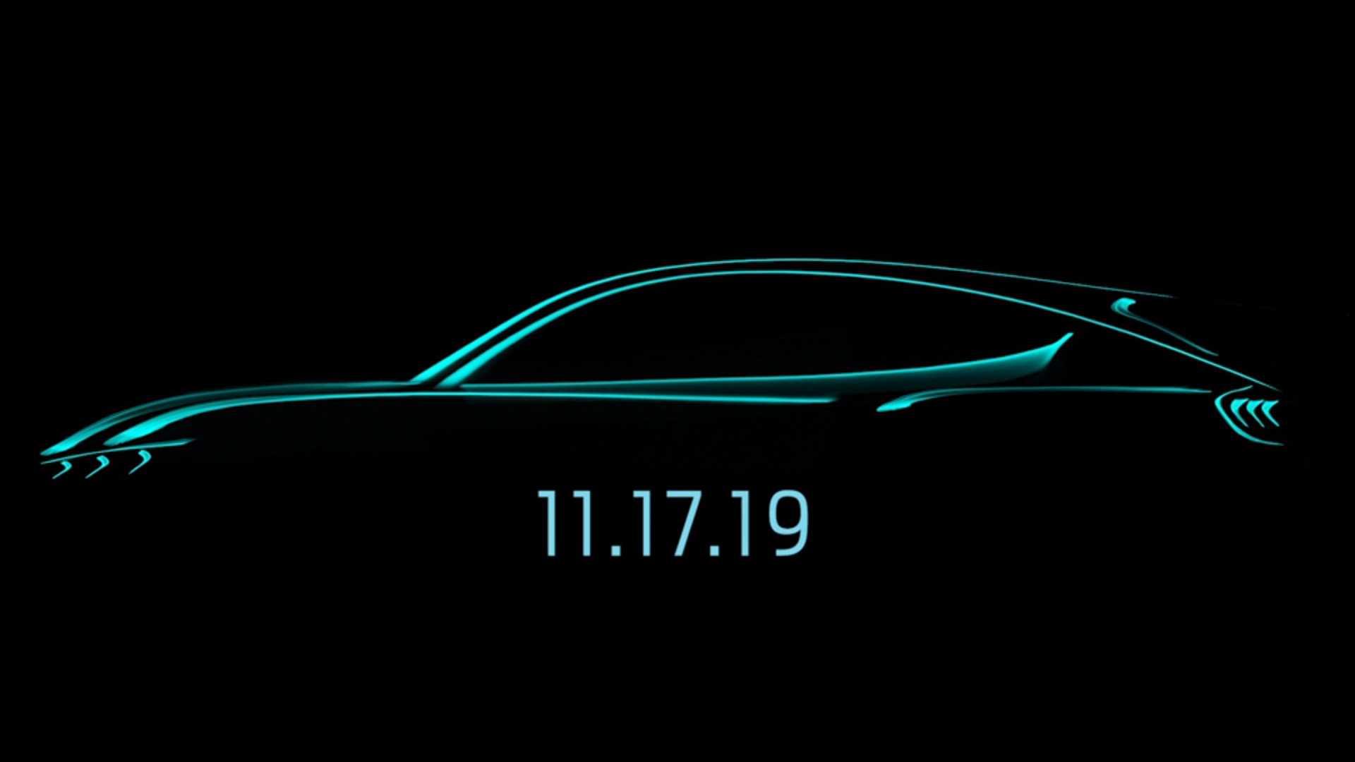福特全新电动SUV定名Mustang Mach-E 11月17日正式亮相