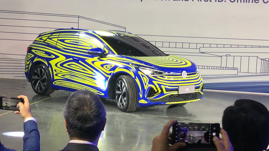 上汽大众新能源汽车工厂落成 首辆ID.车型下线