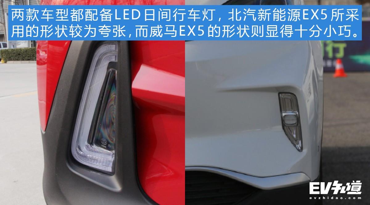 传统与新潮的碰撞 北汽新能源EX5对比威马EX5