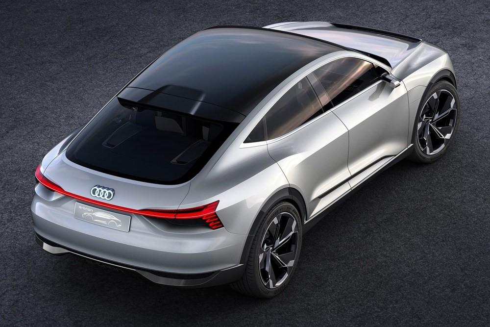 奥迪e-tron Sportback将于2019洛杉矶国际车展亮相
