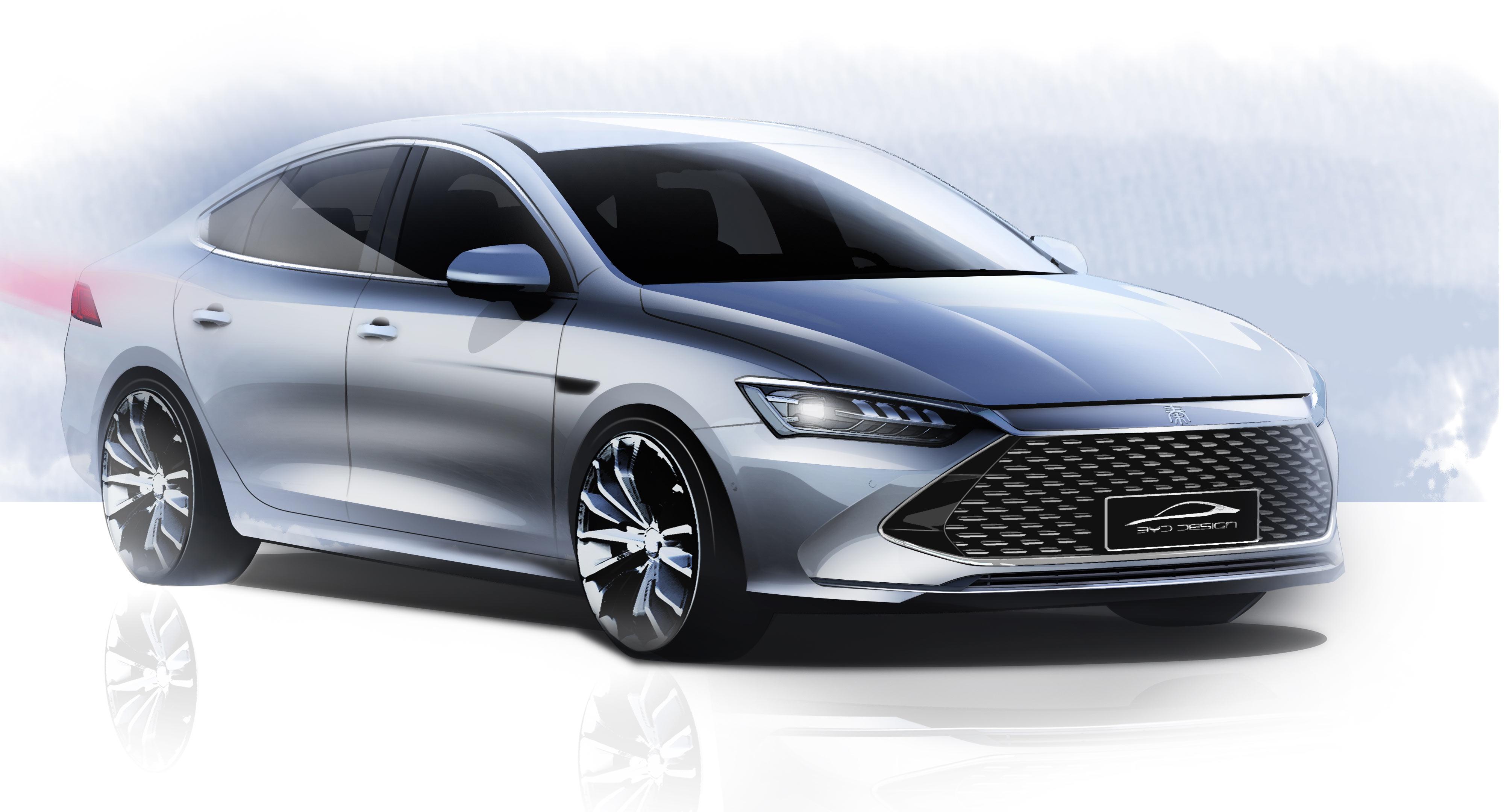 超A新物种 比亚迪全新A+级轿车正式命名秦PLUS