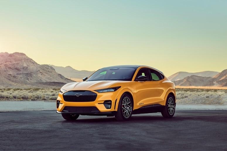 家族最快车型!Mustang Mach-E高性能版数据出炉