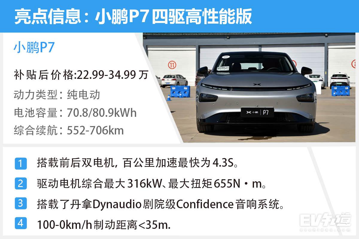 """性能车也有温柔的一面 小鹏P7""""如7而驭""""试驾体验"""