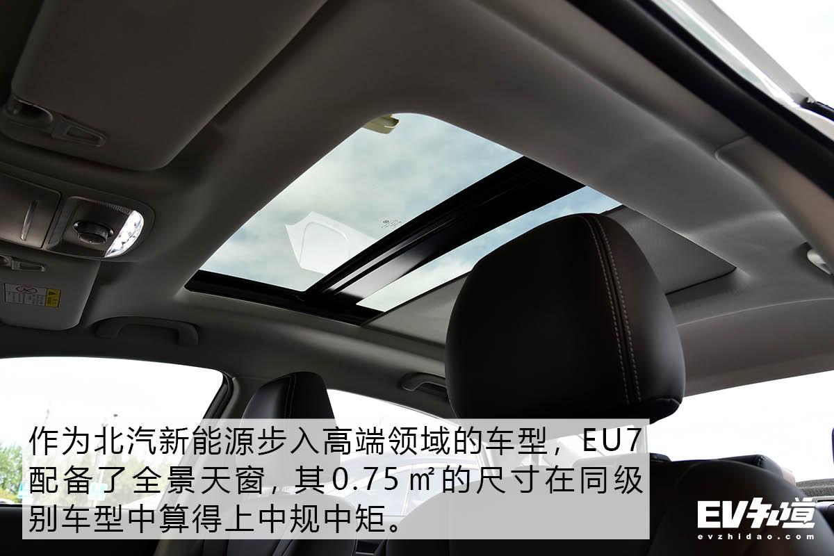 空间表现优秀 静态体验BEIJING-EU7