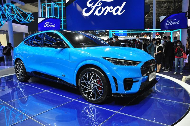 福特首款纯电SUV Mustang Mach-E北京车展中国首秀