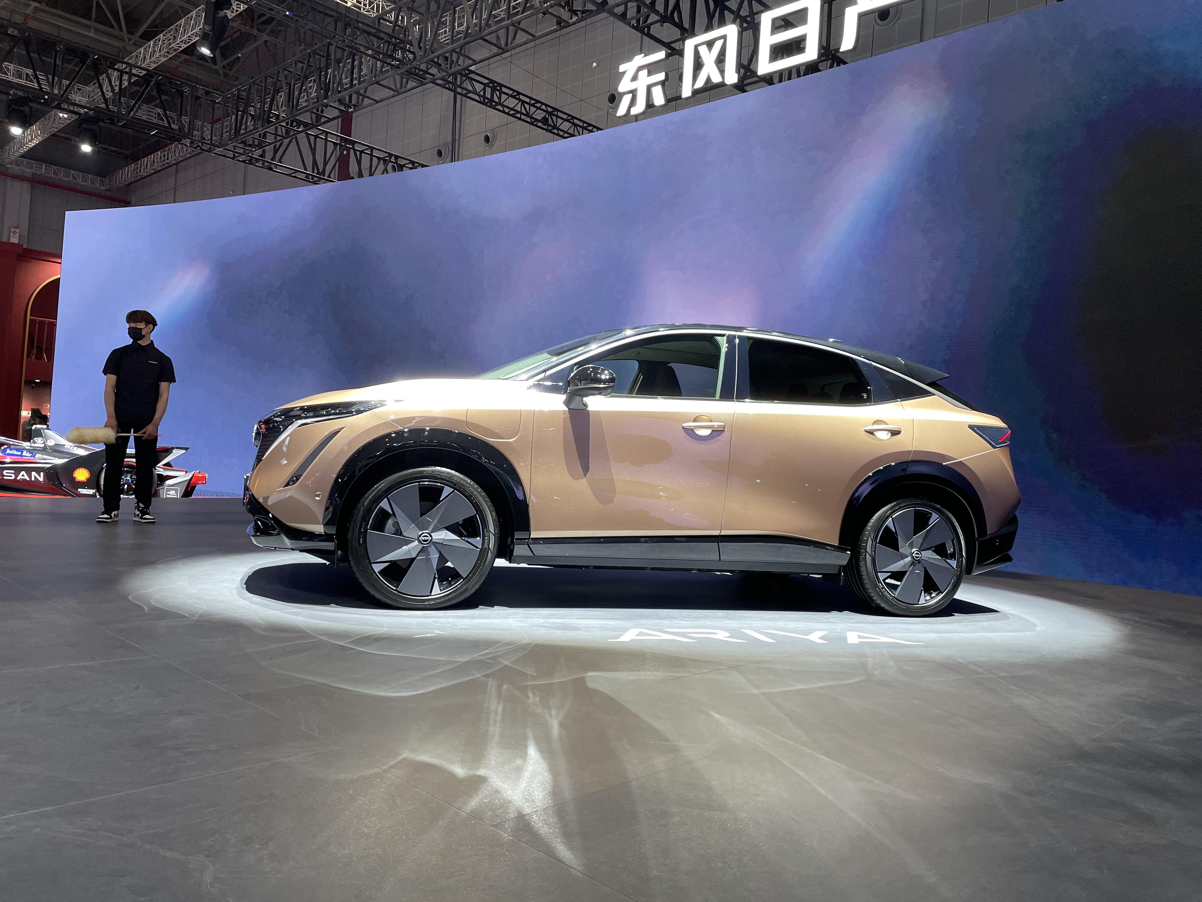 2021上海车展:日产Ariya正式亮相