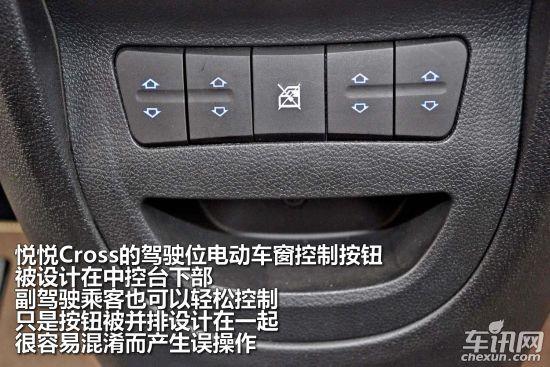 江淮悦悦cross内饰及配置 高清图片