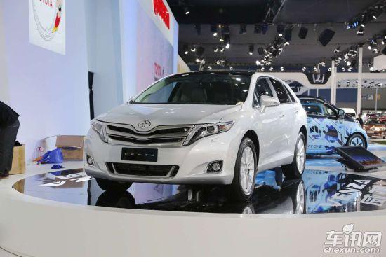 <b>丰田Venza广州车展发布 明年将进口引入</b>