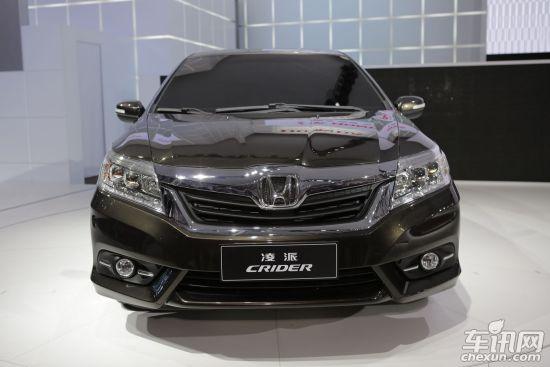 本田 广州 汽车/凌派前身是广汽本田在去年广州车展上发布的Conpect C概念车,...