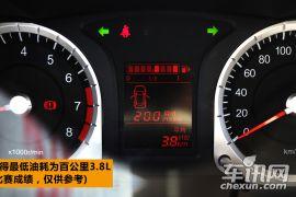 大空间低油耗的性价比之选 试2013款启辰R50