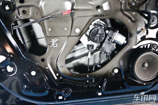 荣威550升窗器接线图