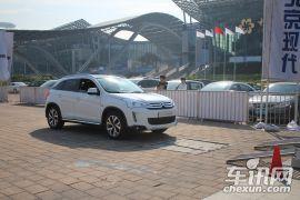 2013广州国际车展雪铁龙C4 Aircross场地体验