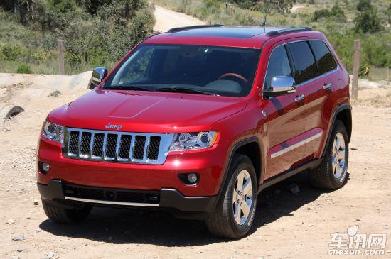 jeep推全尺寸suv 定位高于大切 取代指挥官高清图片