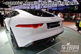 奔跑的猎豹 2014北京车展F-TYPE COUPE图解