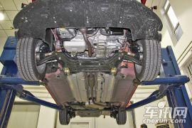 世嘉三厢 1.6L 自动品尚型-底盘结构