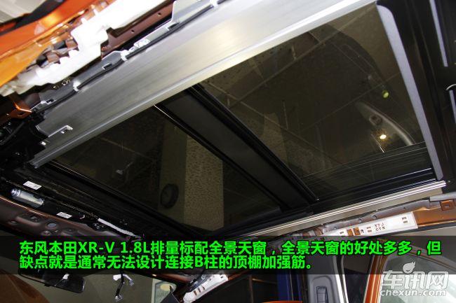 拆车坊第三十五期 东风本田XR-V拆解点评