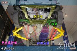 长安CS75单车拆解