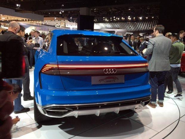 奥迪Q8概念车正式发布 量产或于2018年面世