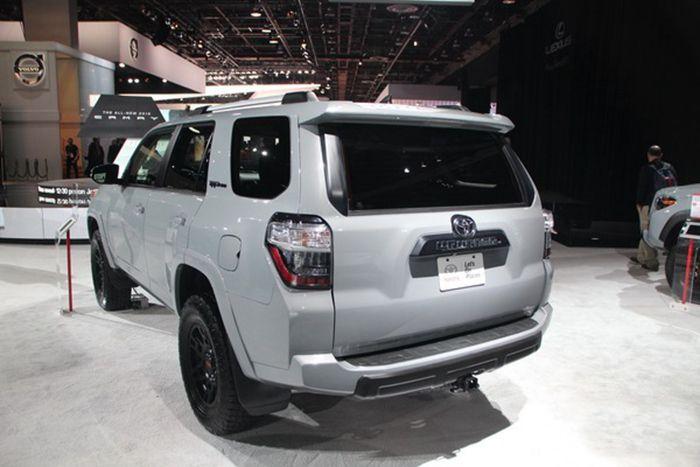 新款丰田4Runner亮相北美车展 或年底上市