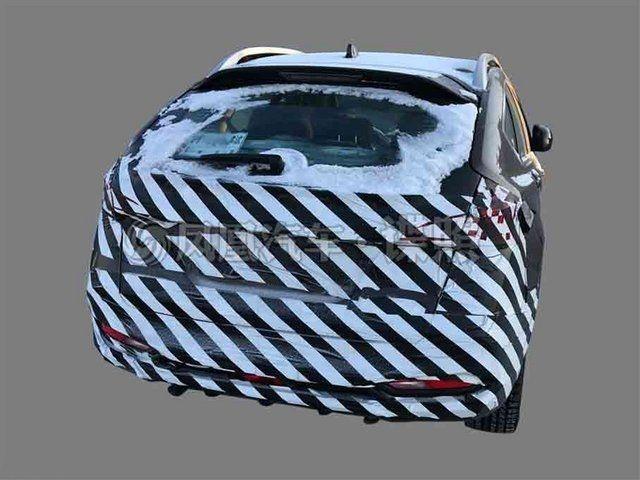 纳智捷新款优6 SUV曝光 或搭1.6T发动机