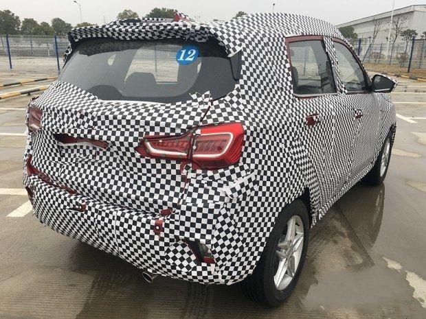 陆风全新小型SUV谍照曝光 2017年中上市