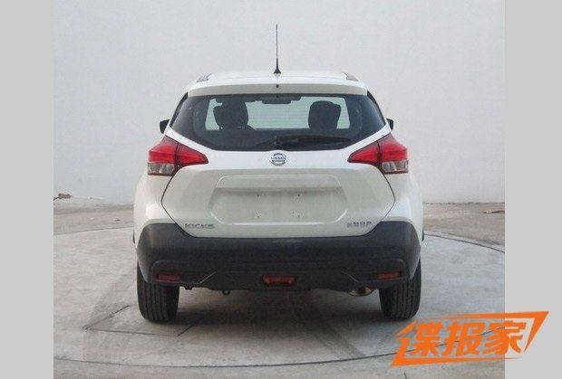 曝东风日产小型SUV申报图 搭1.5L发动机
