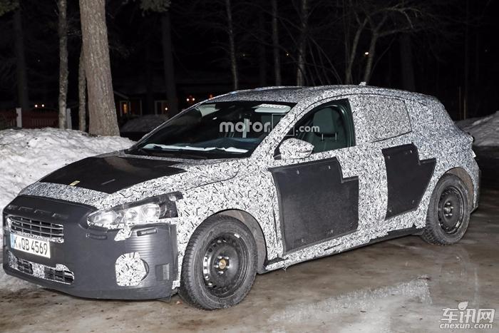 福特全新福克斯谍照泄露 或采用量产版车身