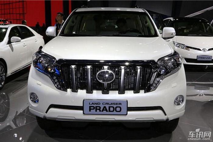 一汽丰田新款普拉多将于10月上市 配置升级