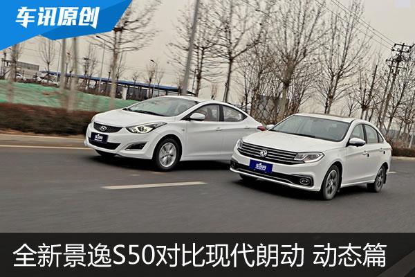 全新景逸S50对比现代朗动 伯仲之间的竞争