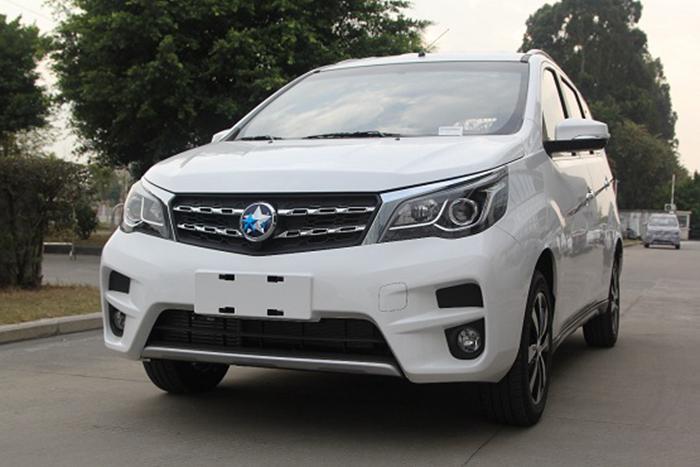 启辰M50V实车照曝光 或2017上海车展上市