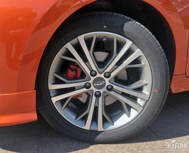 奇瑞艾瑞泽5 Sport实车曝光 3月下旬上市