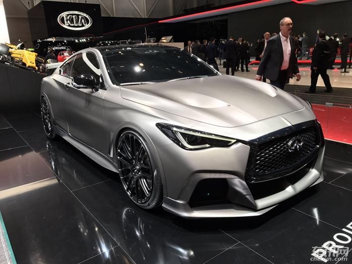 Q60概念车亮相日内瓦车展 搭载混动系统