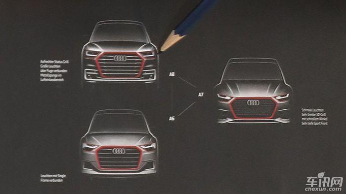 全新A6、A7以及A8设计草图曝光 或今年发布