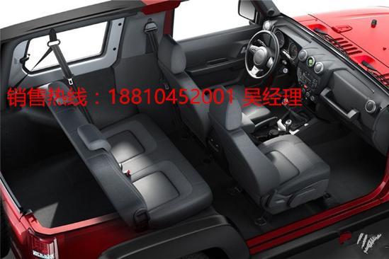 北京北汽BJ40最新报价图片配置多少钱