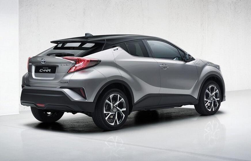 丰田C-HR最新谍照 或将于2018年引入投产
