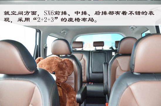 稳重实用·7座SUV 实拍东风风行SX6-图16