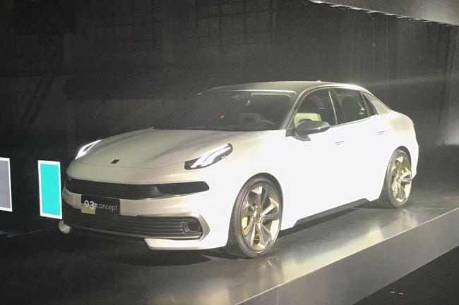 """吉利高端品牌命名""""领克"""" 4季度推SUV车型"""