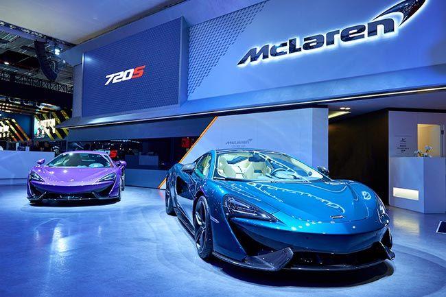720S与570GT龙寅限量版于2017上海车展首发