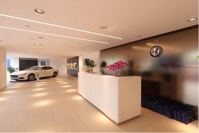 玛莎拉蒂&阿尔法罗密欧双品牌展厅落地上海