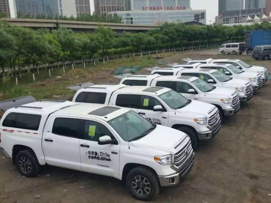 17款丰田坦途天津专业改装元旦降价10万-图2