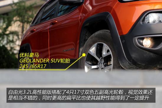 吉普国产新大七座SUV尺寸 自由光最新报价